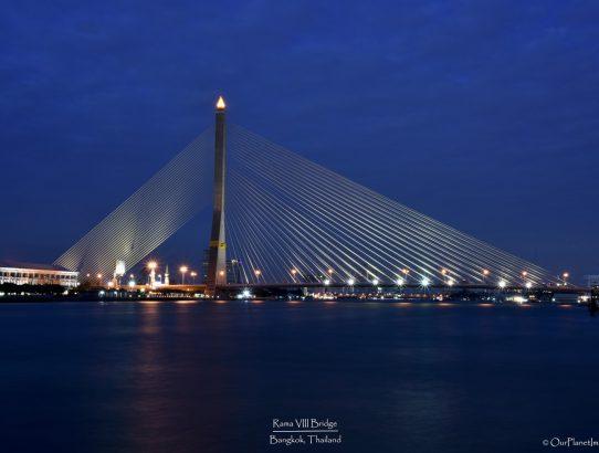 Rama VIII Bridge - Thailand