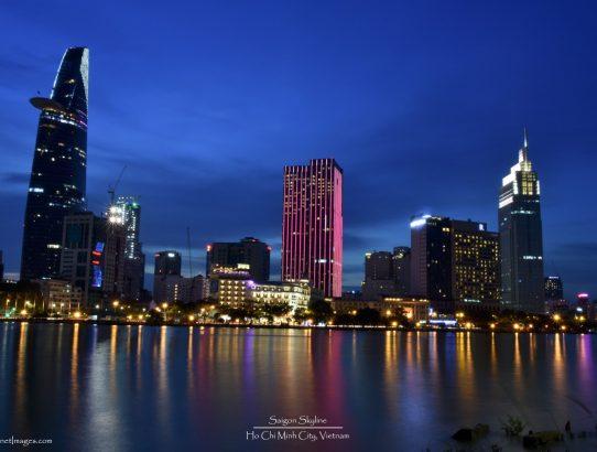 Saigon Skyline - Vietnam