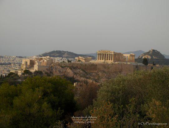 Acropolis Of Athens - Greece