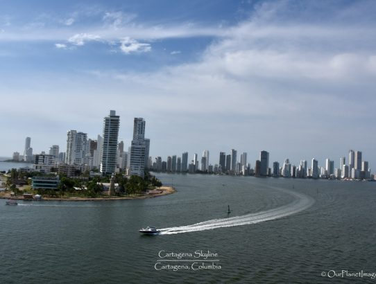 Cartagena Skyline - Columbia