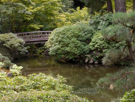 Portland Japanese Garden - Oregon