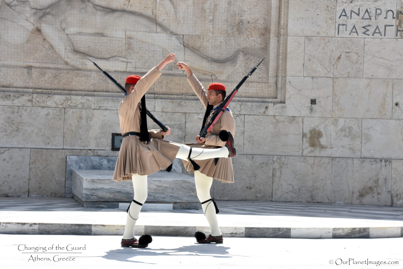 Changing of the Guards - Greece
