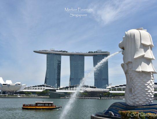 Merlion Fountain - Singapore
