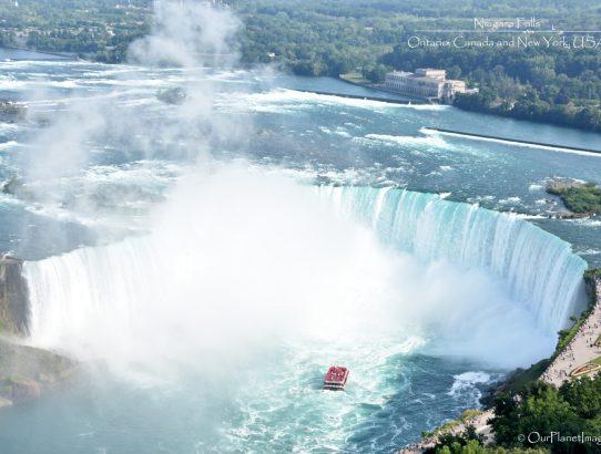 Niagara Falls - Ontario, Canada and New York, USA