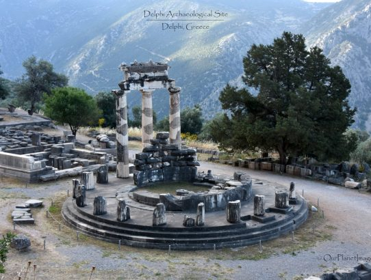 Delphi Archaeological Site - Greece