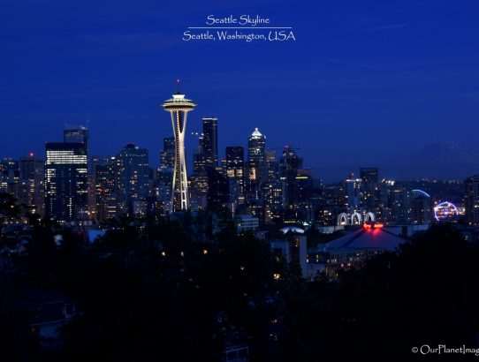 Seattle Skyline - Washington