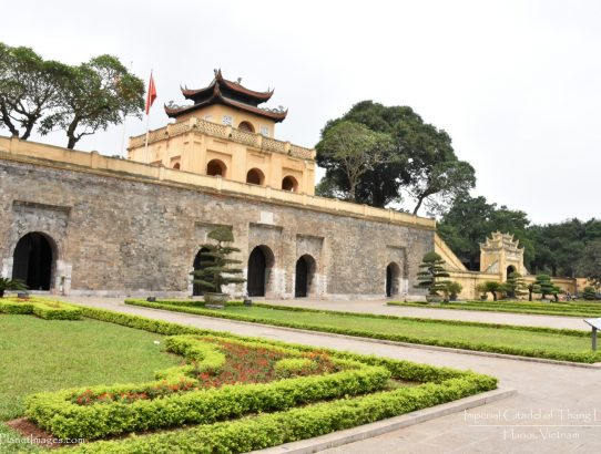 Imperial Citadel of Thang Long - Vietnam