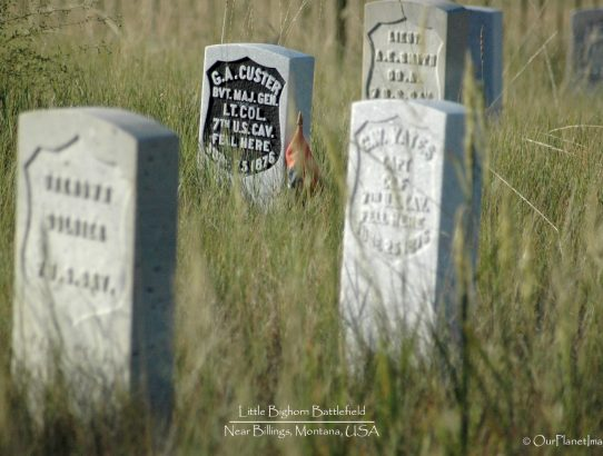 Little Bighorn Battlefield - Montana