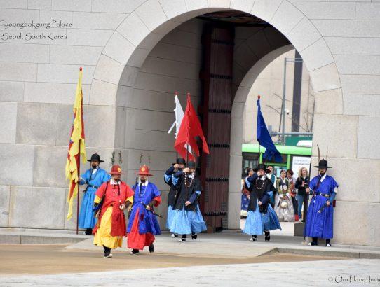 Gyeongbokgung Palace Changing of the Guard - S. Korea