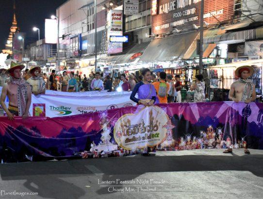 Lantern Festival Night Parade - Thailand