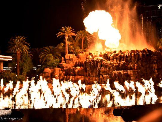 Mirage Casino's Volcano Show - Nevada