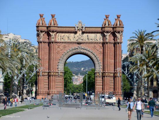 Arc de Triomf - Spain