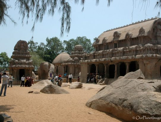 Pancha Rathas at Mahabalipuram - India