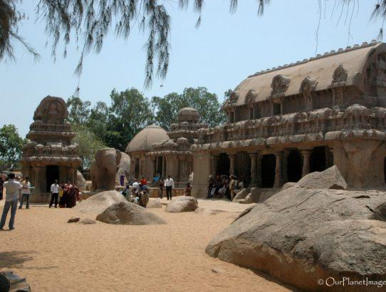 Pancha Rathas at Mahabalipuram - India