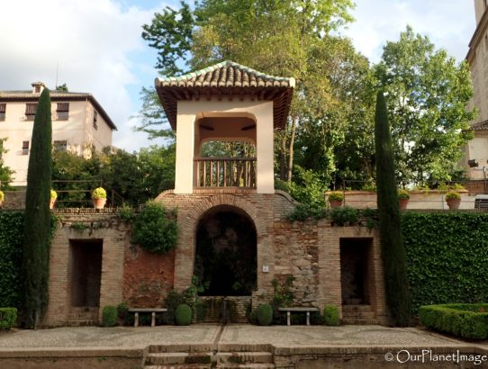 Alhambra Gardens and Generalife Palace - Spain