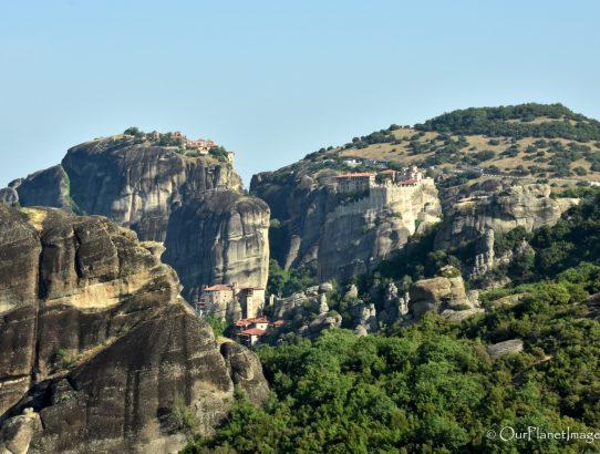 Monasteries at Meteora - Greece