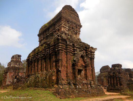 Cham archeological site at Mỹ Sơn - Vietnam