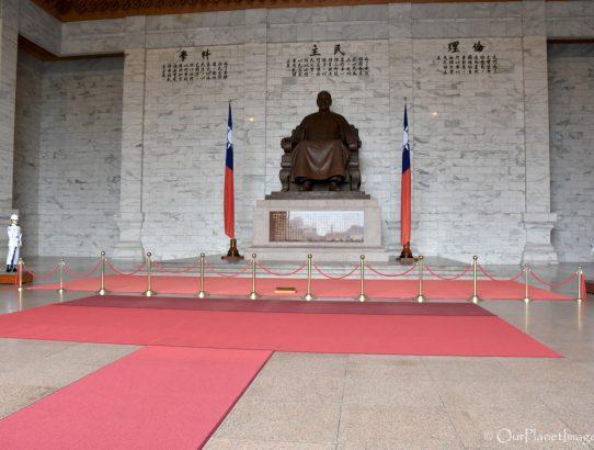 Guard Changing at Chiang Kai-shek Memorial - Taiwan